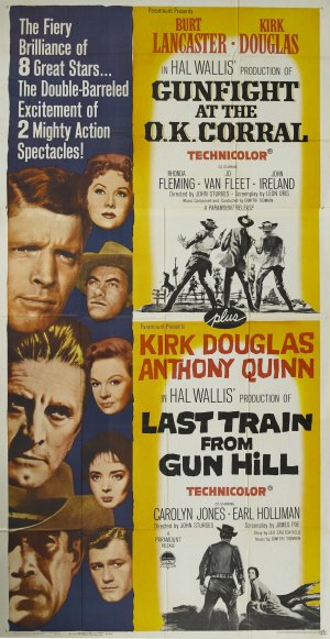 Last Train from Gun Hill Combo poster
