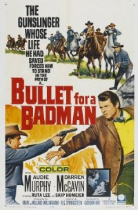 Bullet for a Badman poster