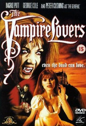 The Vampire Lovers Dvd cover