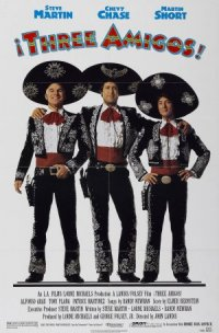 ¡Three Amigos! poster