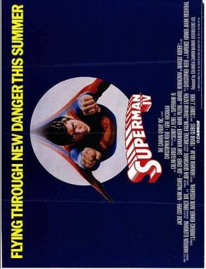 Superman IV: The Quest for Peace Poster