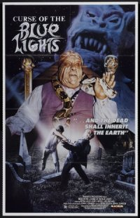 Curse of the Blue Lights poster