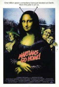 Martians Go Home poster