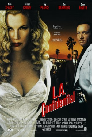 L.A. Confidential Video release poster