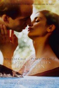 Captain Corelli's Mandolin poster