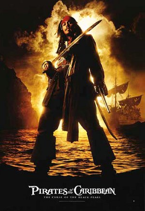 Pirates of the Caribbean: The Curse of the Black Pearl 350x507