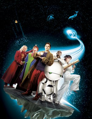 Key art for The Hitchhiker's Guide to the Galaxy