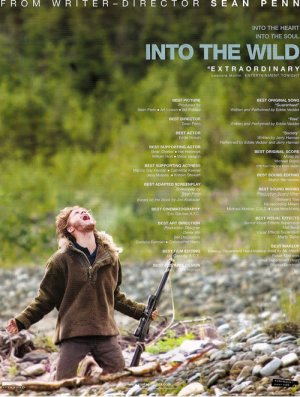 Into the Wild For your consideration poster