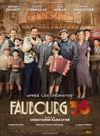 Faubourg 36 poster