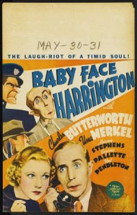 Baby Face Harrington poster