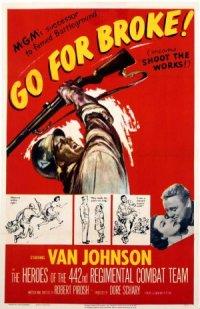 Go for Broke! poster