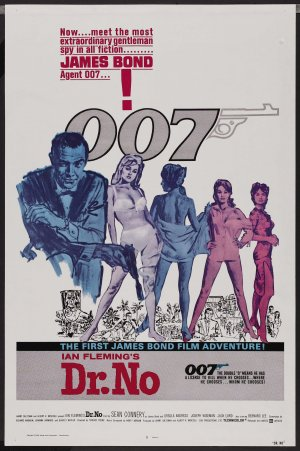 Dr. No Re-release poster