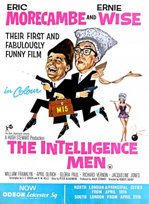 The Intelligence Men Poster
