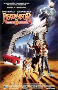 Beastmaster 2: Through the Portal of Time poster