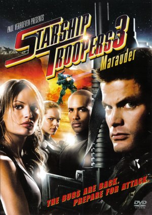 Starship Troopers 3: Marauder Dvd cover