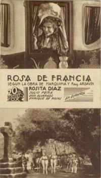 Rosa de Francia poster