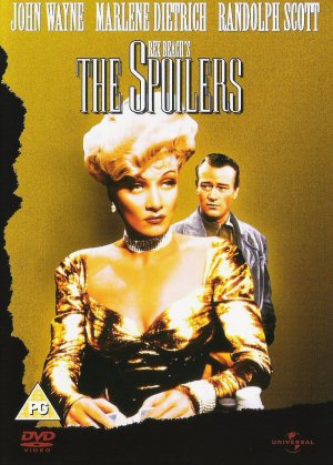 The Spoilers Dvd cover
