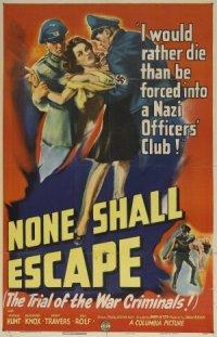None Shall Escape poster