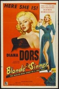 Blonde Sinner poster