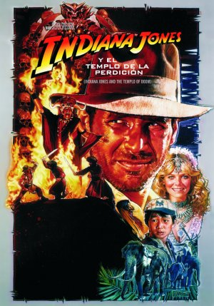 Indiana Jones and the Temple of Doom 700x1000