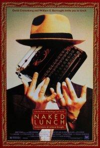 David Cronenberg's Naked Lunch poster
