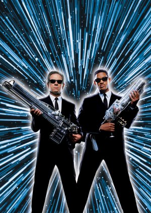 Men In Black textless poster. C**yright by respective production studio and/or distributor