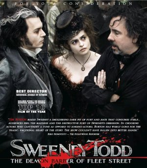 Sweeney Todd: The Demon Barber of Fleet Street For your consideration poster