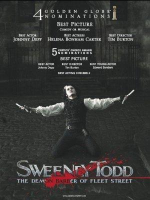 Sweeney Todd: The Demon Barber of Fleet Street 523x697