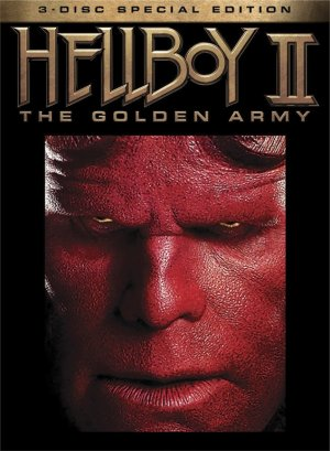 Hellboy II: The Golden Army Dvd cover