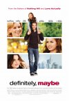 Definitely, Maybe poster