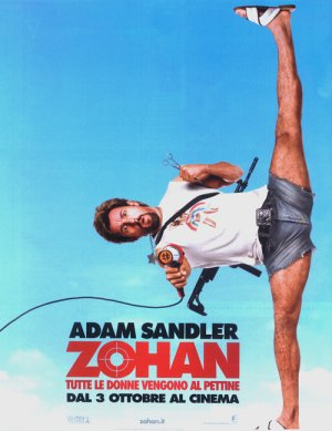 You Don't Mess with the Zohan 500x648