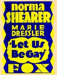 Let Us Be Gay poster