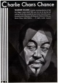 Charlie Chan's Chance poster