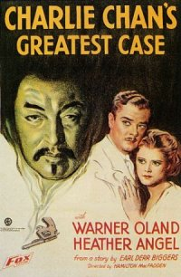 Charlie Chan's Greatest Case poster