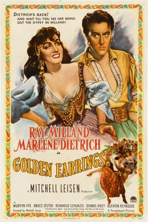 Golden Earrings Poster