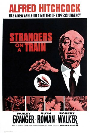 Strangers on a Train Re-release poster
