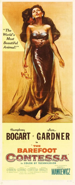 The Barefoot Contessa Theatrical poster