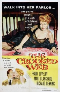 The Crooked Web poster