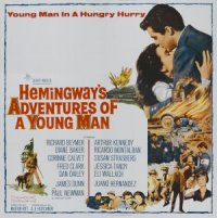 Hemingway's Adventures of a Young Man poster