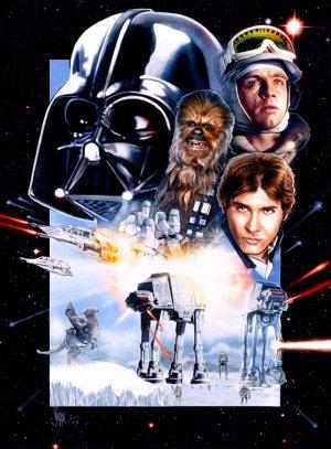 Star Wars: Episodio V - El Imperio contraataca 627x850