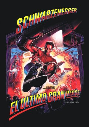 Last Action Hero Dvd cover