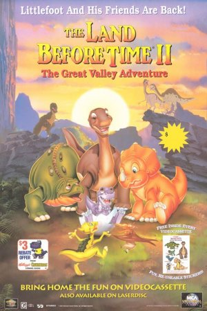 The Land Before Time 2 Poster