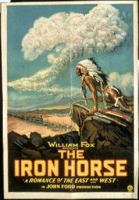 Le cheval de fer poster