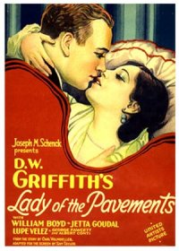 Lady of the Pavements poster