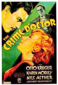 The Crime Doctor poster