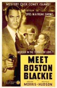 Meet Boston Blackie poster
