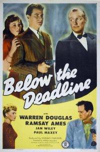 Below the Deadline poster