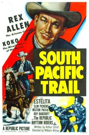 South Pacific Trail Poster