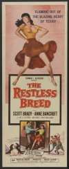 The Restless Breed Poster