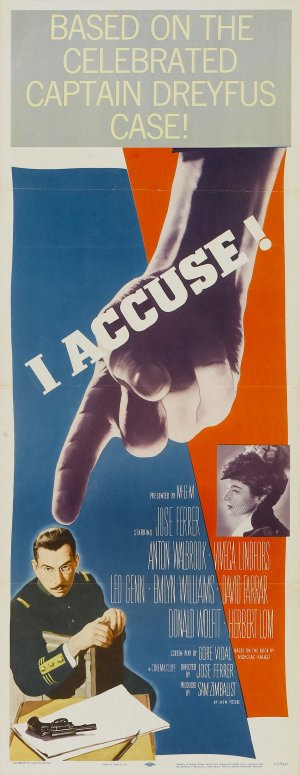 I Accuse! Theatrical poster